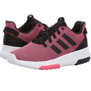 Adidas Racer Training sneakers Toddler Size 7 Pink